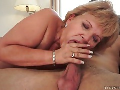 Curvy mature fuck from behind and big facial tubes