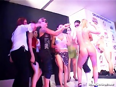 Dance and sex orgy with lots of beauties tubes