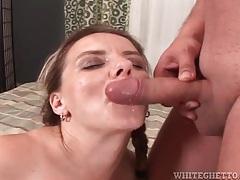 Cumshots coat big titties in sexy compilation clip tubes