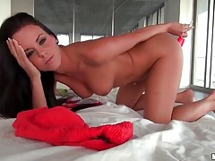Banana and dildo popsicle fuck her pussy tubes