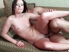 Slut with tiny tits and shaved box fucked hardcore tubes