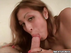 Good girl gives head in pov and cums hard tubes