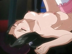 Prince pounds his cock into a hentai vagina tube