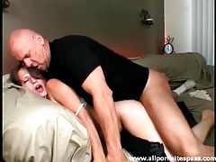 Small tits brunette is passionate for hard fucking tubes