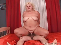 Blonde bbw mature has hardcore sex tubes