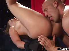 Penny flame strapon fucks him and gets fucked tubes