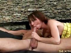 Skinny girl has big cock ramming her throat tubes