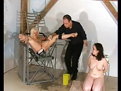 Medical fetish play with cute curvy blonde girl tubes