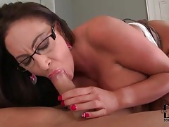 Her big ass is incredible as she rides cock tubes