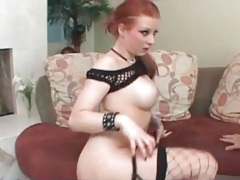 Big breasted redhead licked by eager guy tubes