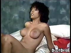 Vintage porno with girl in white lingerie tubes