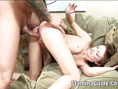 Hungry haley young nailed tubes
