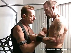 Mature leather daddies fucking tubes