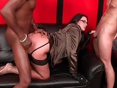 Guys blow loads from fucking hot brunette tubes