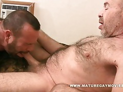 Hairy mature guy gets fucked by ugly friend tubes