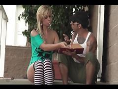 Tara lynn foxx models her amazing ass in public tubes