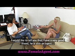 Femaleagent tight blonde anal casting tubes