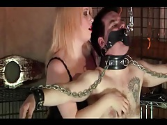 Milf makes her husband obey her tubes