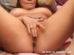 Webcam girl flings her panties away and masturbates tubes