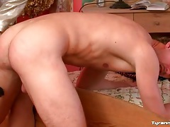 Naked guy flogged by gorgeous dominant girl tubes