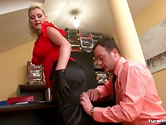 Hot curvy girl in work clothes fucked hardcore tubes