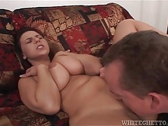 Licking cunt of slut that deepthroats his boner tubes