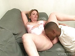 Milf with curves goes down on big black cock tubes