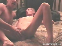 Fingering and fucking his redneck girlfriend tubes