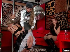 Sissy french maid humiliated by two guys tubes