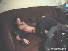 He fools around with big tits amateur brunette tubes