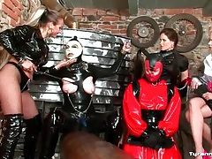 Wicked kinky femdom group sex scene tubes