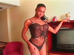 Black shemale nefertiti has a big sexy cock tubes