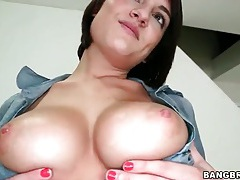 Chase ryder models her pierced pussy tubes