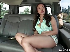 Big ass tease vicki chase in the car tubes