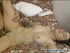 Hot and busty amateur girlfriend anal action tubes
