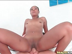 Large white cock ridden by black slut lola larue tubes