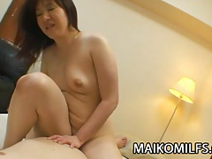 Junko takeyama: wild japanese mom fucking really good tubes