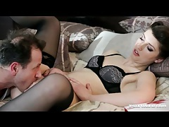 Classy lingerie on suzen sweet in pussy eating video tubes