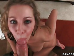 Cute blonde mysti may sucks and fucks big cock tubes