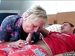 Mature slut strips for a tasty titjob tubes