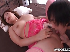 Pink lingerie on lovely girl he fucks hardcore tubes