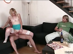 He gets hot watching wife fuck another guy tubes