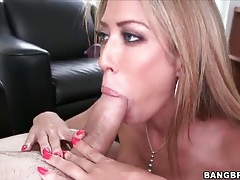 Talented capri cavalli sucks off big cock tubes