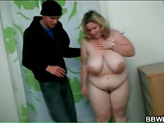 Breaking into bbw apartment to grope her tubes
