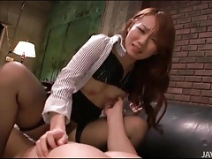 Stockings girl grinds on his cock for creampie tubes