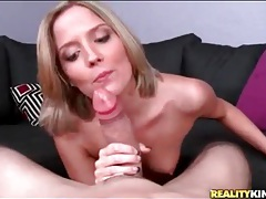 Cute girl in pov blowjob and hardcore video tubes