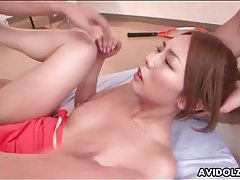 Sporty girl yume kimino fucked by two guys tubes