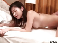 Young asian doggystyle with a creampie fuck tubes