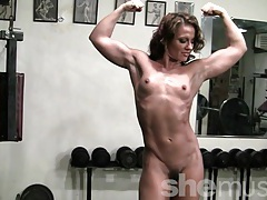 Pornstar inari vachs workout in the gym tubes