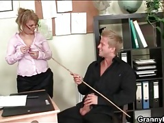 Sexy old teacher sucks his hard young cock tubes